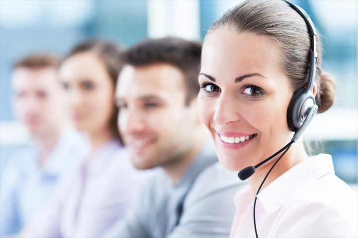 Outsourced contact center